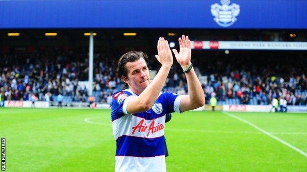 Former Queens Park Rangers midfielder Joey Barton