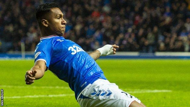 Rangers striker Alfredo Morelos will be permitted to return to Colombia