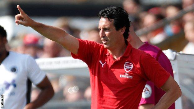 Unai Emery, who was appointed head coach of Arsenal in May