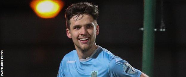 Ballymena hat-trick hero Lecky has missed most of this season through injury