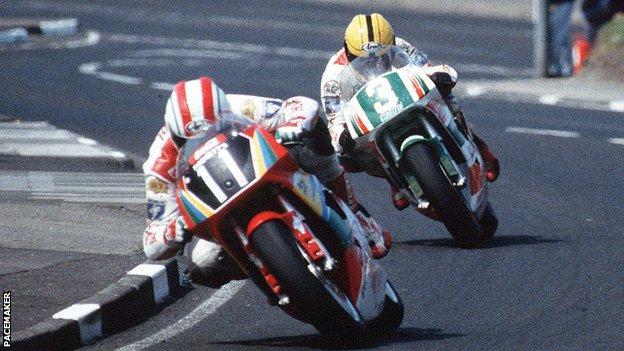 Phillip McCallen และ Joey Dunlop