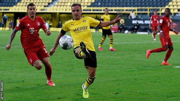 Mario Gotze joins PSV Eindhoven for free after Borussia Dortmund exit