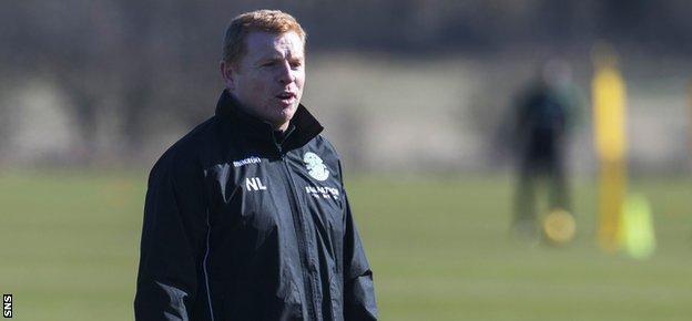 Hibs head coach Neil Lennon