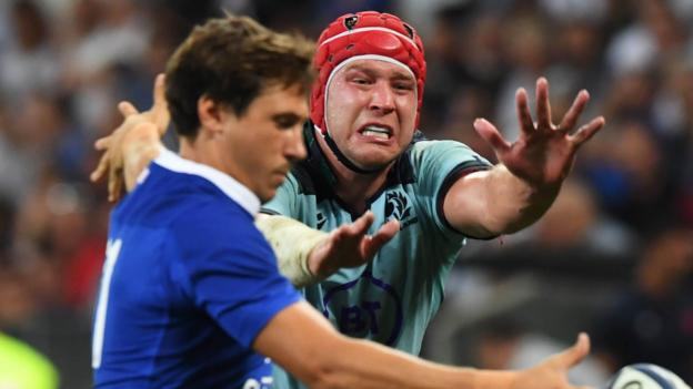 France 32-3 Scotland: Gregor Townsend's men crushed in Nice thumbnail