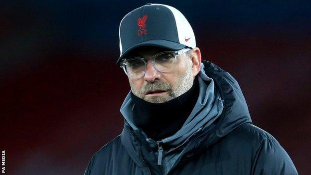 Liverpool yöneticisi Jurgen Klopp