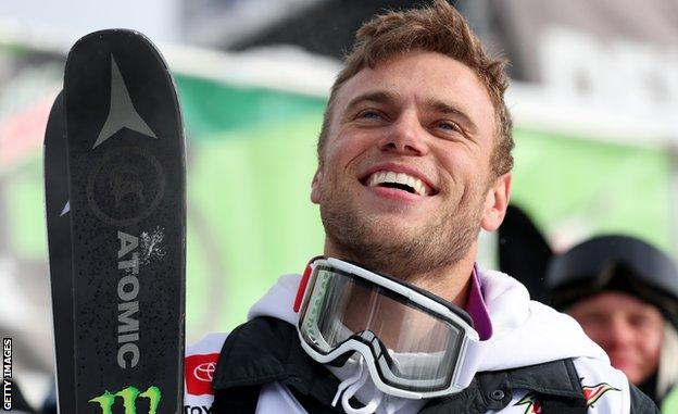 Gus Kenworthy, pictured at the X-Games of 2021
