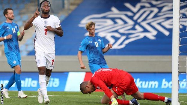 Raheem Sterling scored a penalty as England beat Iceland 1-0 in Reykjavik in September