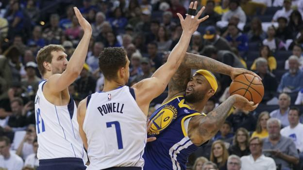 Golden State Warriors suffer heaviest defeat of season against Dallas Mavericks thumbnail