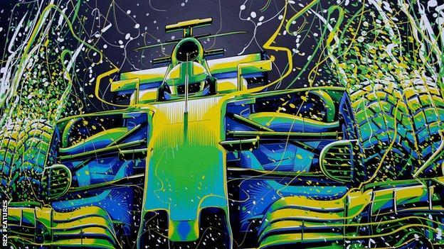 F1 mural