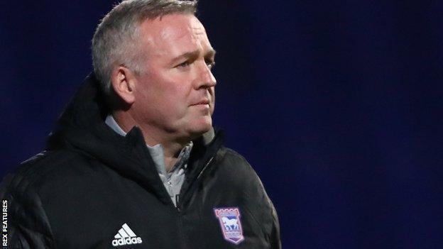 Ipswich Town yöneticisi Paul Lambert