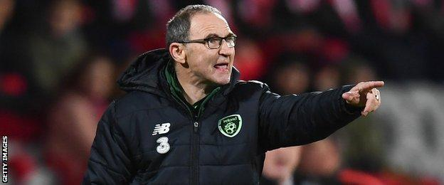 Martin O'Neill led the Republic of Ireland to Euro 2016 qualification