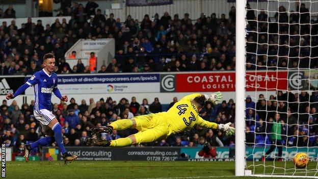 Bersant Celina scored eight goals on loan at Ipswich Town last season