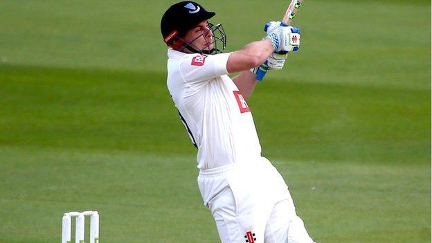 Sussex batsman Luke Wright