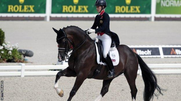 Dujardin holds European, Olympic and World titles