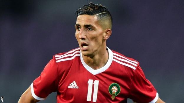 Morocco midfielder Faycal Fajr