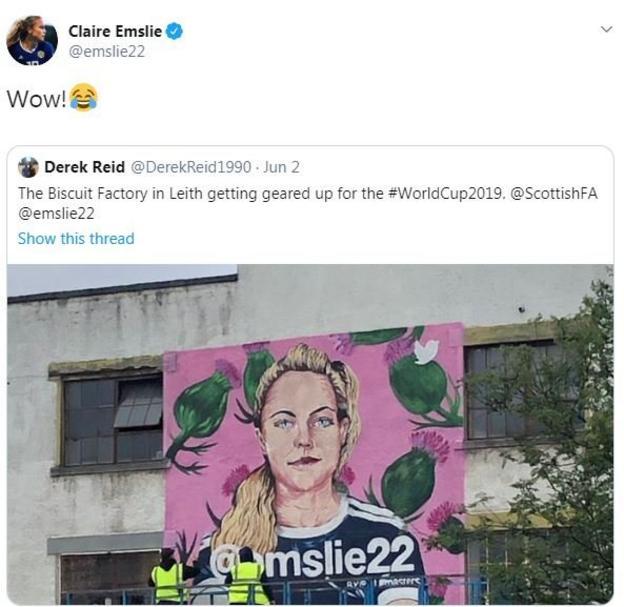 Claire Emslie's mural