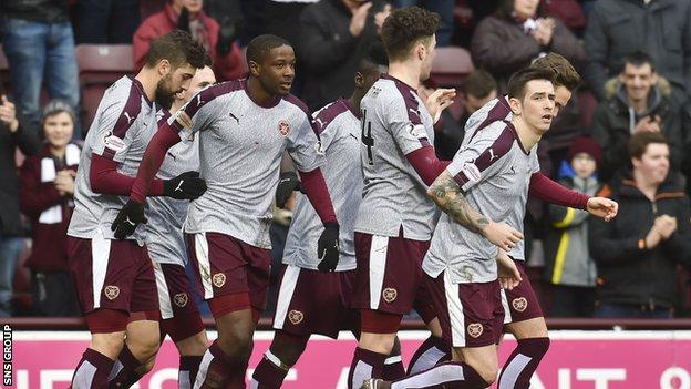 Hearts play two games this week