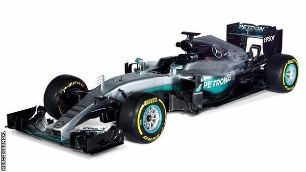 Mercedes new F1 car