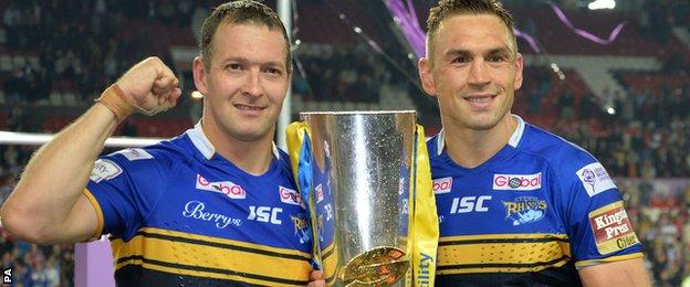 Danny McGuire and Kevin Sinfield