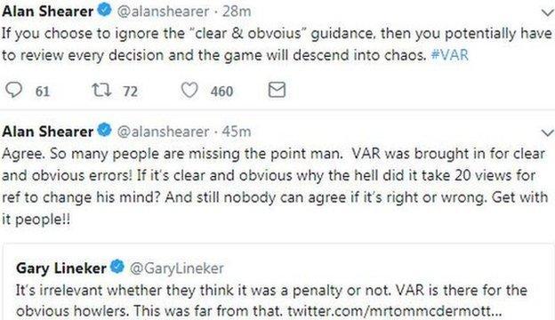 Alan Shearer and Gary Lineker