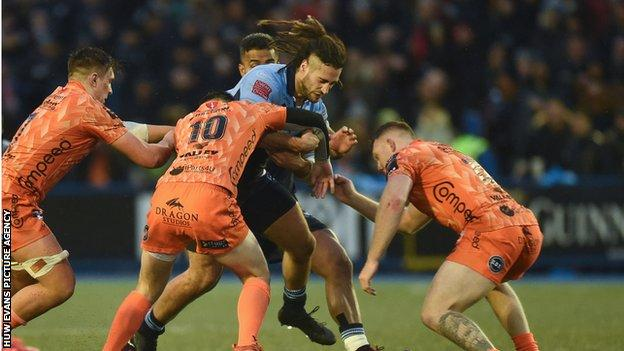 Wales back-rower Josh Navidi has made 173 appearances for Cardiff Blues