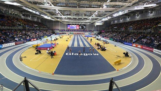 Emirates Arena hosted the British Championships last February