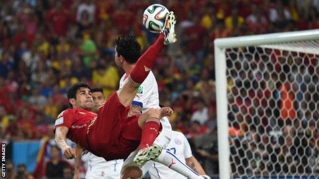 Chelsea and Spain forward Diego Costa