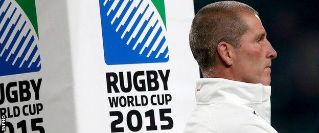 Stuart Lancaster's England lost to Wales and Australia at RWC 2015