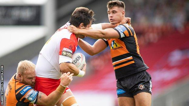 Jacques O'Neill has previously spent time on loan at Halifax and Leigh Centurions
