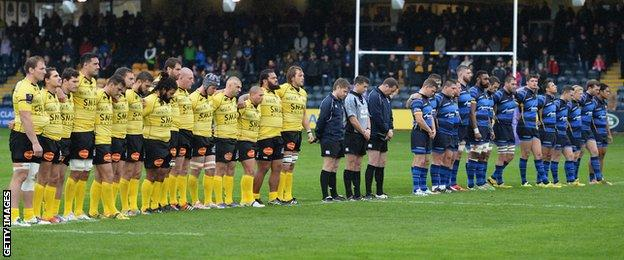 Worcester and La Rochelle