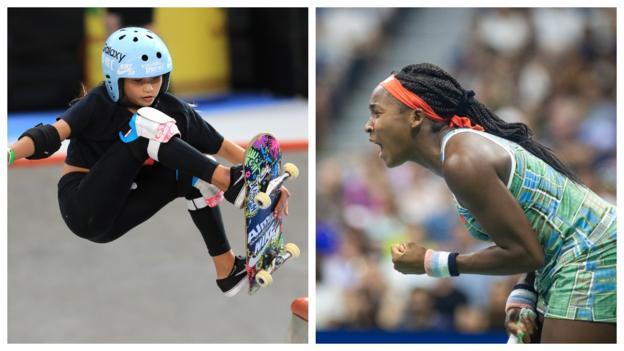 Ansu Fati, Coco Gauff, Sky Brown & Oleksii Sereda: Amazing sporting youngsters
