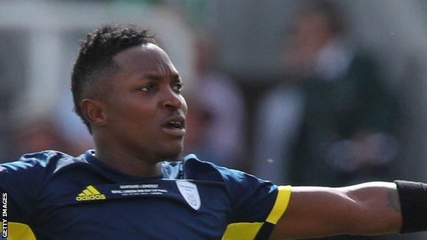 Fidel Edwards took three wickets in Hampshire's One-Day Cup defeat by Somerset in May