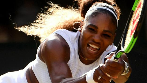 Wimbledon 2019: Serena Williams recovers to beat qualifier Kaja Juvan thumbnail
