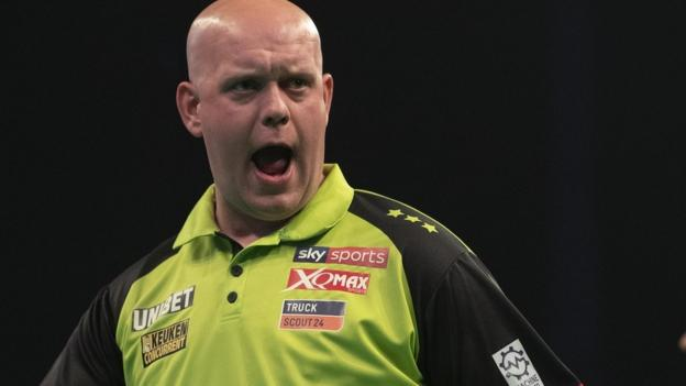Premier League Darts play-offs: Michael van Gerwen seeking fifth title thumbnail