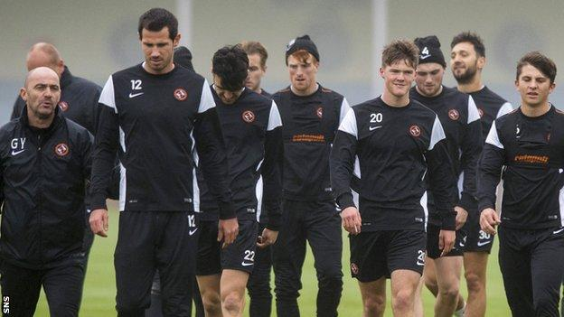 Dundee United prepare for Saturday's Premiership visit to Tannadice by Ross County