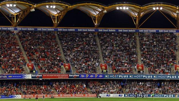 Carrara Stadium on the Gold Coast