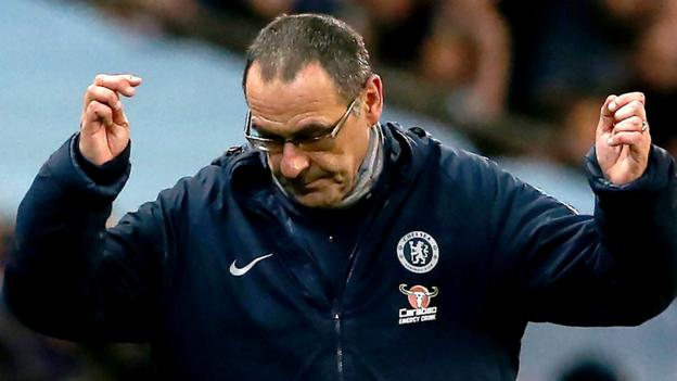 Maurizio Sarri: What next for Chelsea boss after Man City thrashing thumbnail