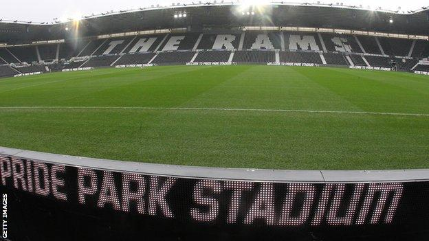 General view of Pride Park