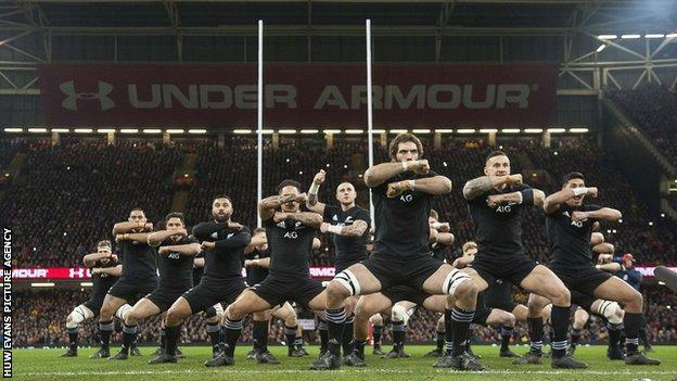 New Zealand in Cardiff in 2017