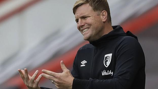 Bournemouth: Eddie Howe says his side had to