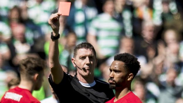 Shay Logan: Aberdeen lose appeal against red card at ...