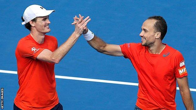 Jamie Murray and Bruno Soares win the Apia International in Sydney