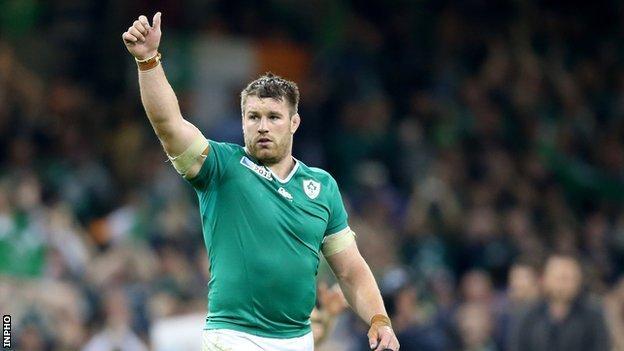 Ireland flanker Sean O'Brien