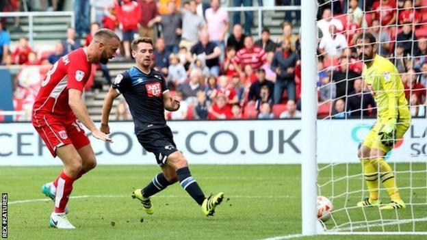 Aaron Wilbraham of Bristol City