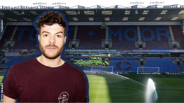 Cut out of Jordan North at Turf Moor