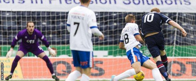 Liam Boyce opened the scoring with a deflected strike