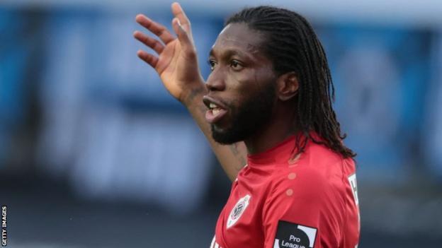 DR Congo striker Dieumerci Mbokani