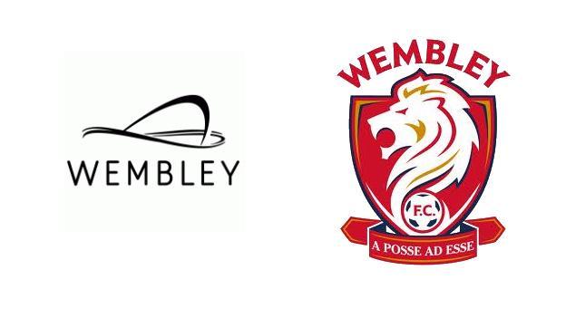Wembley Stadium logo and Wembley FC logo