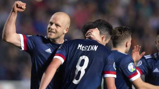 Scotland a striker away from being a 'major threat' - Craig Brown - BBC News