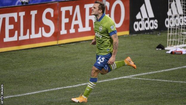 Jordan Morris helped Seattle Sounders win the MLS Cup in 2016 and 2019
